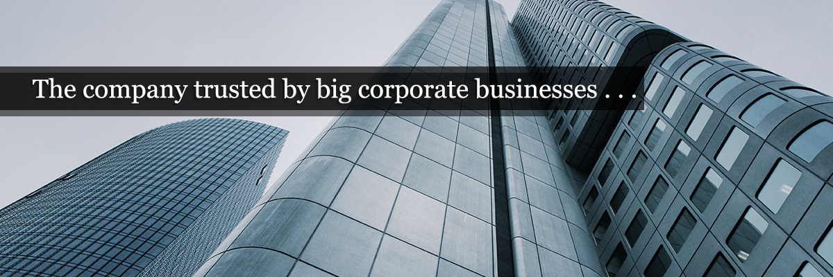Big corporate businesses - About Us